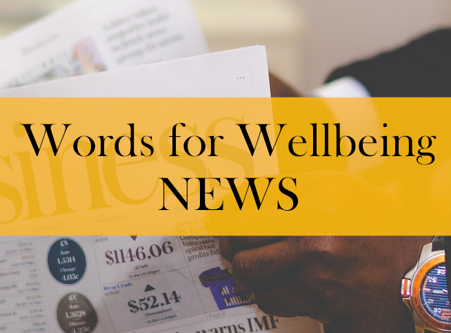 Words For Wellbeing News